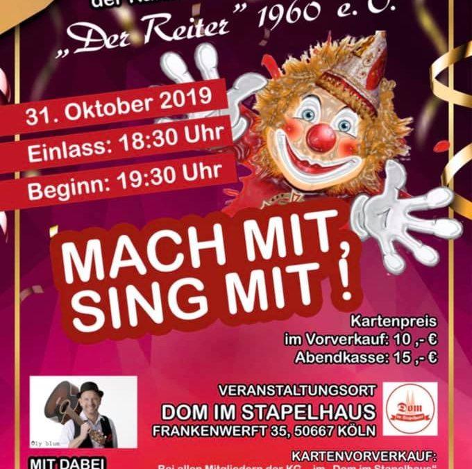 """Mitsing-Konzert """"Der Reiter"""""""